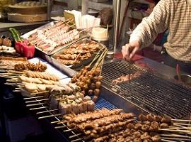 Street barbecue, China
