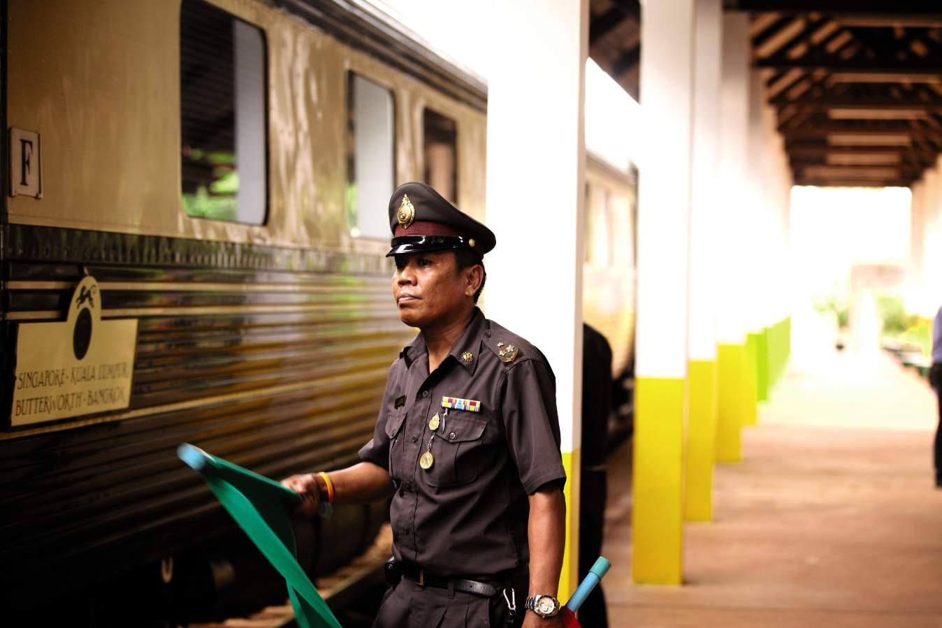 Guard, Belmond Eastern & Oriental Express