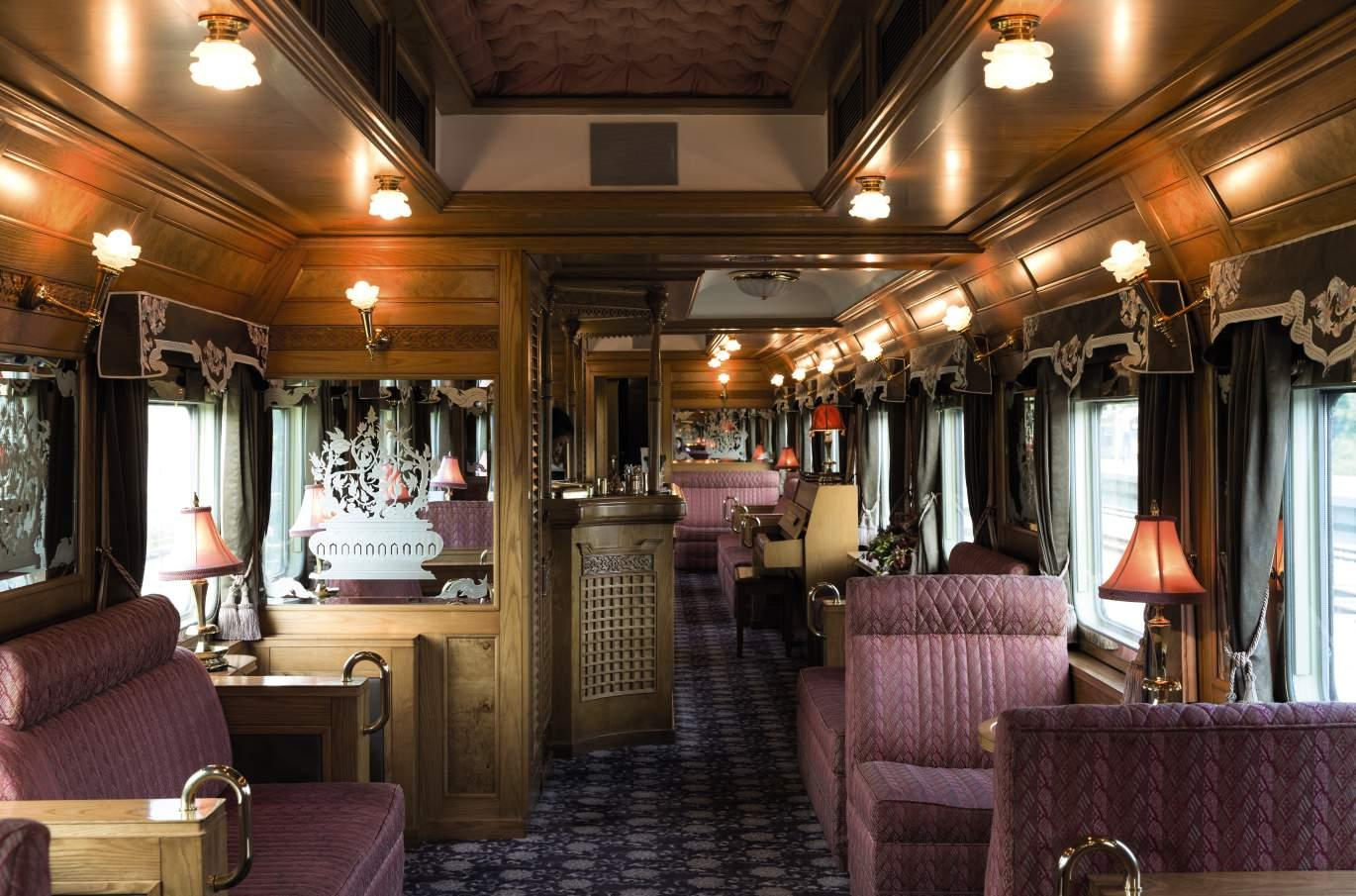Bar, Belmond Eastern & Oriental Express