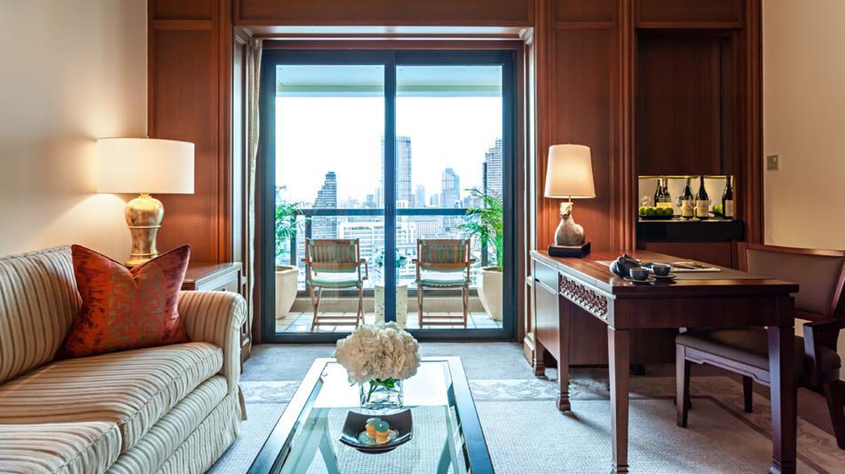 Grand Balcony Room, The Peninsula Bangkok