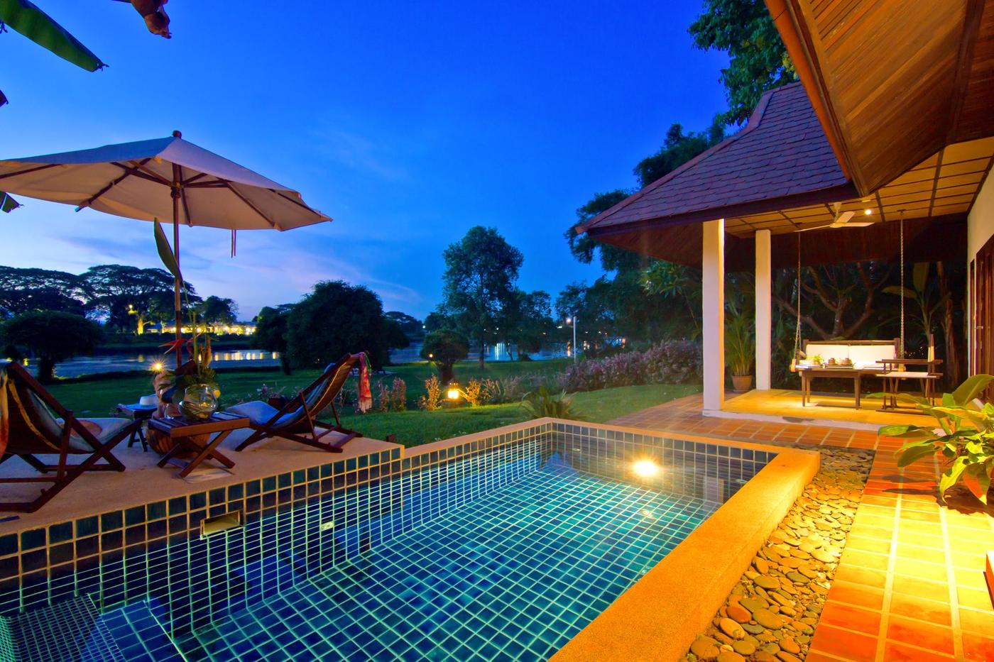 Pool Villa, The Legend Chiang Rai