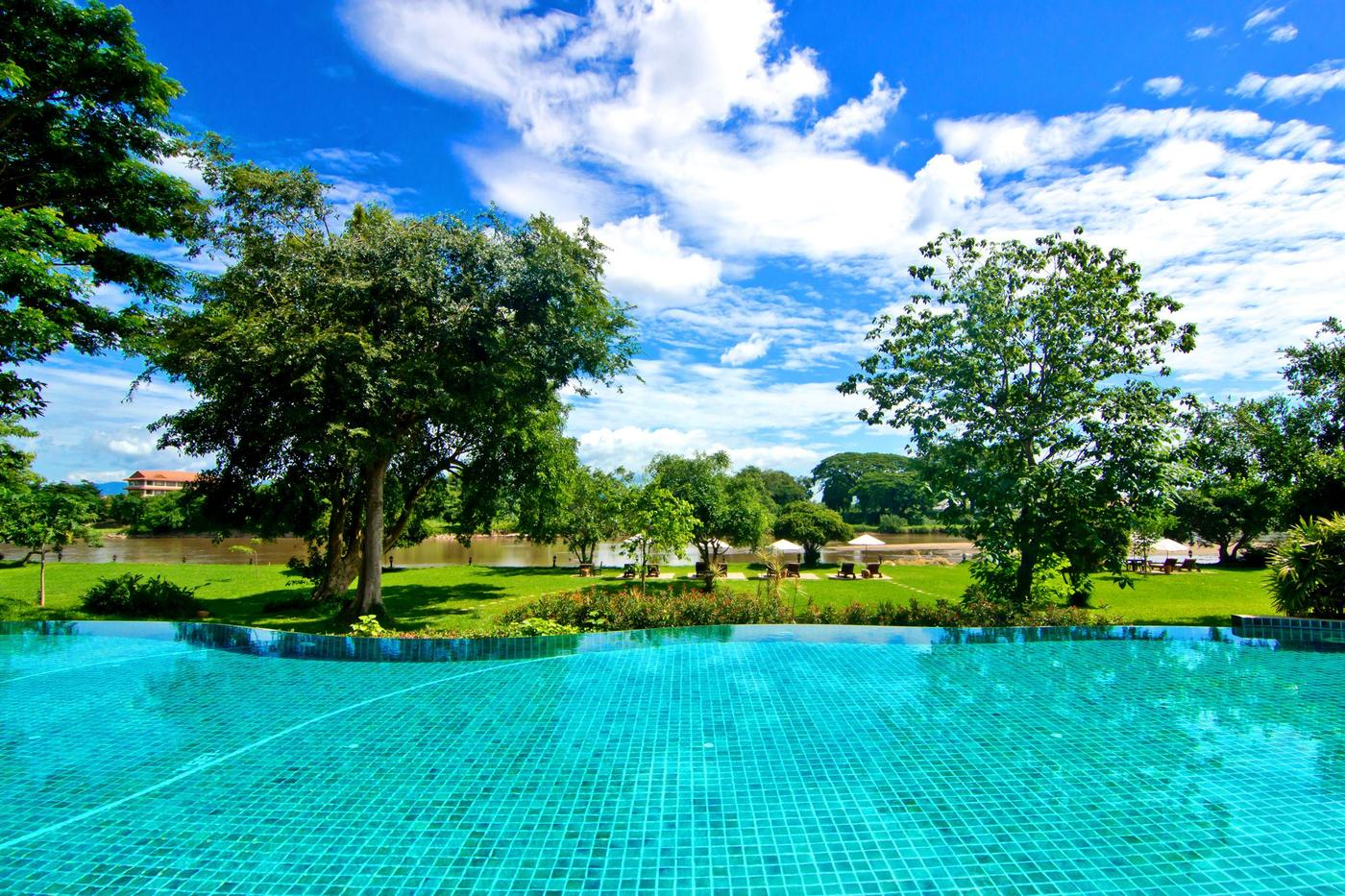 Swimming pool, The Legend Chiang Rai