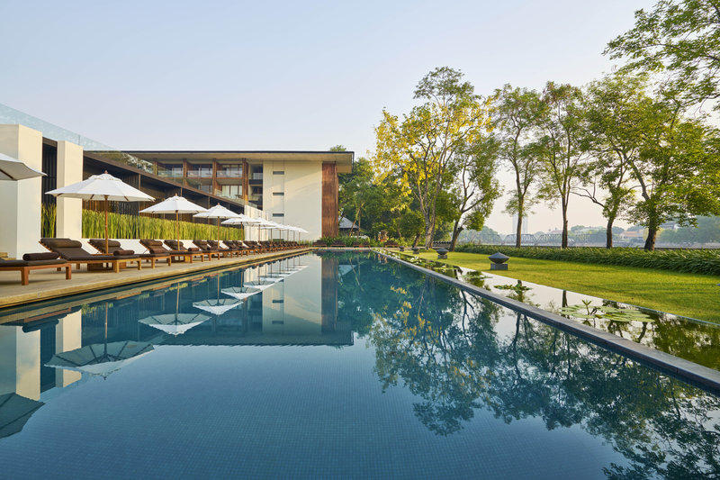 Swimming pool, Anantara Chiang Mai