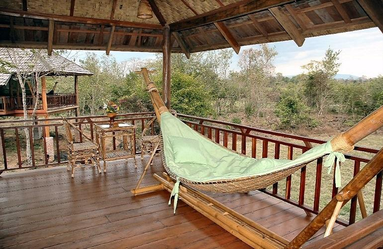 Veranda, Kingfisher Ecolodge