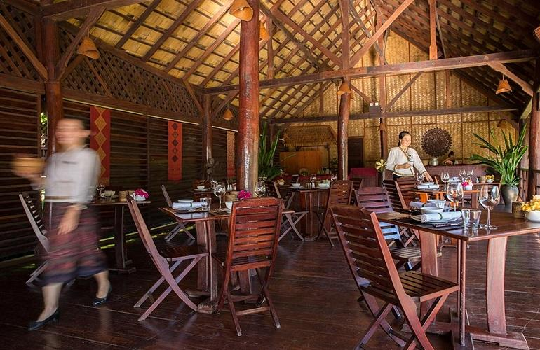 Restaurant, Luang Say Lodge