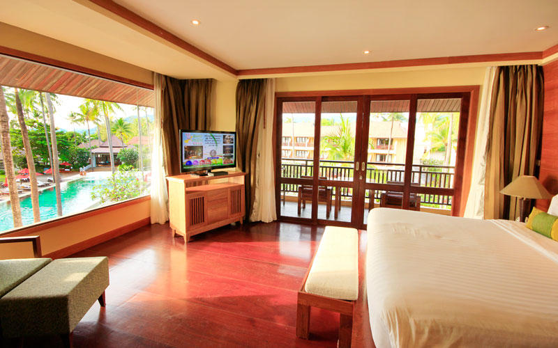 Deluxe Ocean Facing Room, The Emerald Cove