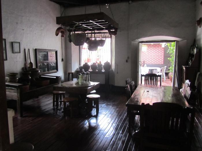 Colonial kitchen, Villa Angela Heritage House