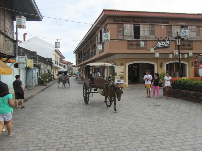 Outside, Vigan Plaza