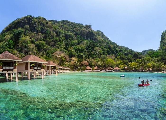 Water Cottages, El Nido Resorts: Lagen Island