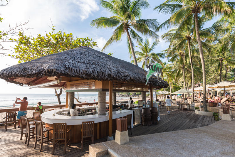 Beach Bar, Katathani Phuket Beach Resort