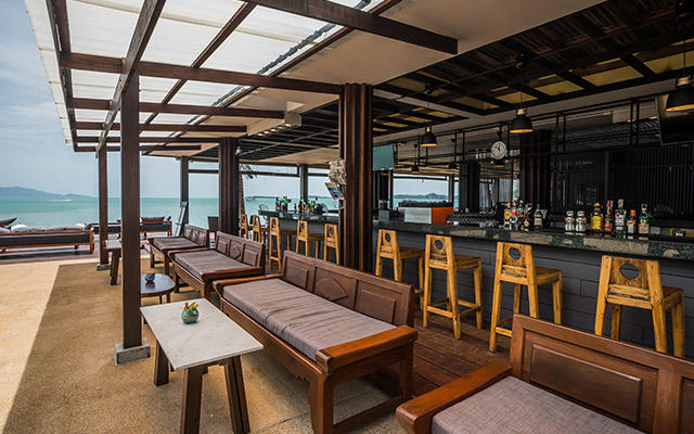 Beach bar, Peace Resort Samui