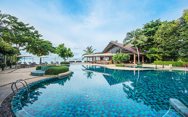 Swimming pool, Peace Resort Samui