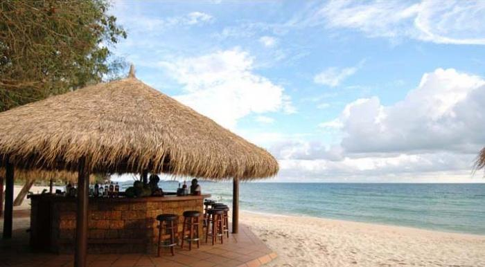 Beach bar, Sokha Beach Resort