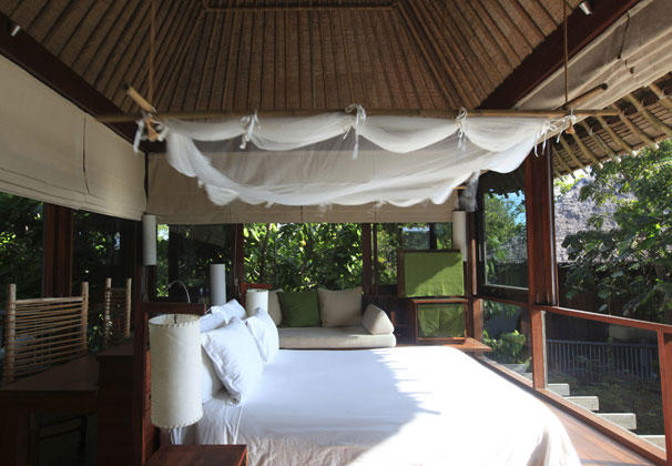 Pool Villa Bedroom, Six Senses Samui