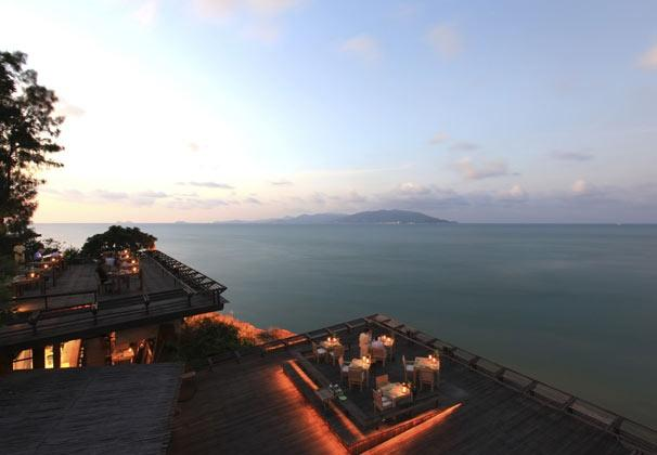 Dining on the Rocks, Six Senses Samui