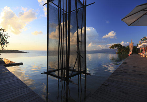 Main Pool, Six Senses Samui