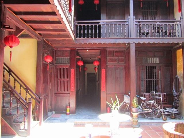 Courtyard, Vinh Hung Merchant House