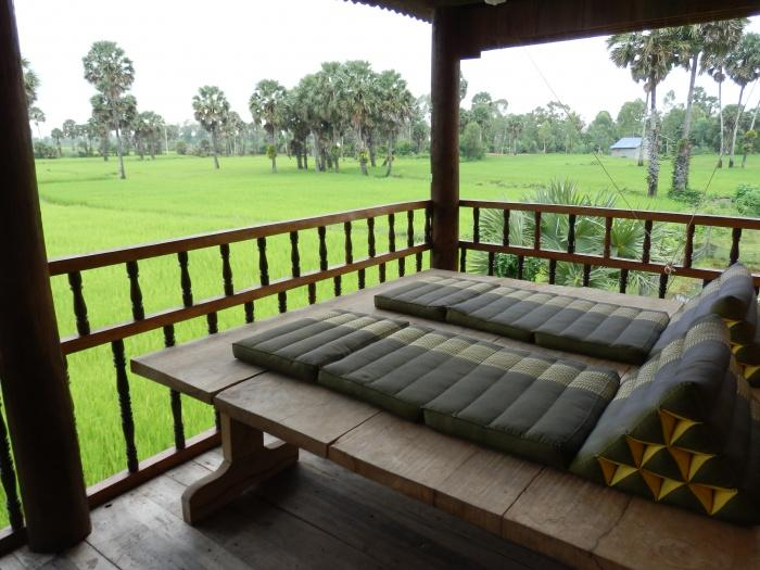 Terrace, Champa Lodge