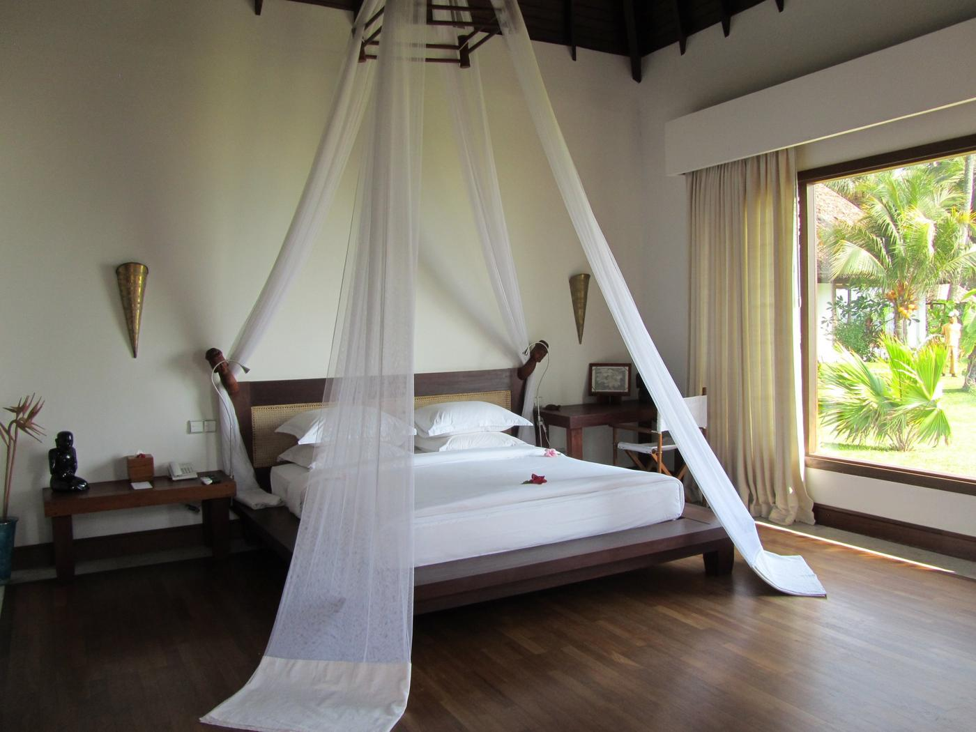 Bedroom, Ngapali Bay Villas & Spa