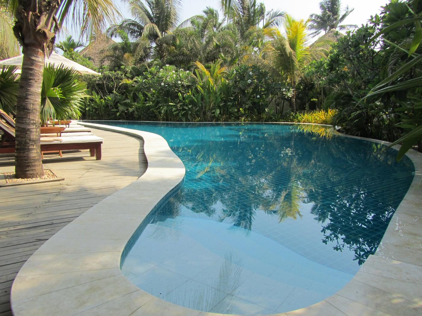 Swimming pool, Ngapali Bay Villas & Spa