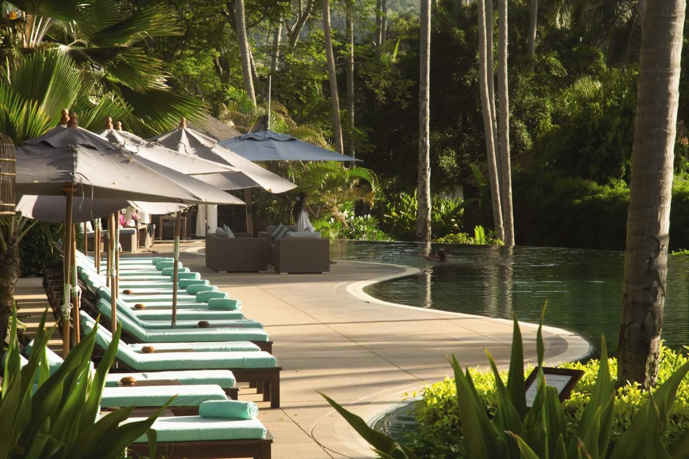 Swimming pool, Belmond Napasai