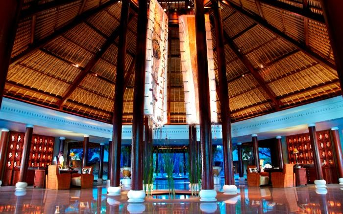 Lobby, The Oberoi, Lombok
