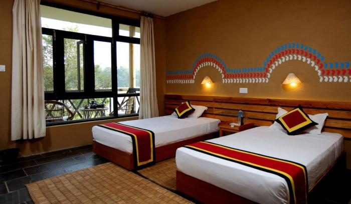 Bedroom, Jungle Villa Resort