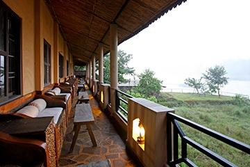 Terrace, Jungle Villa Resort