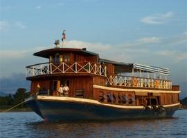 MS Hintha on the Irrawaddy