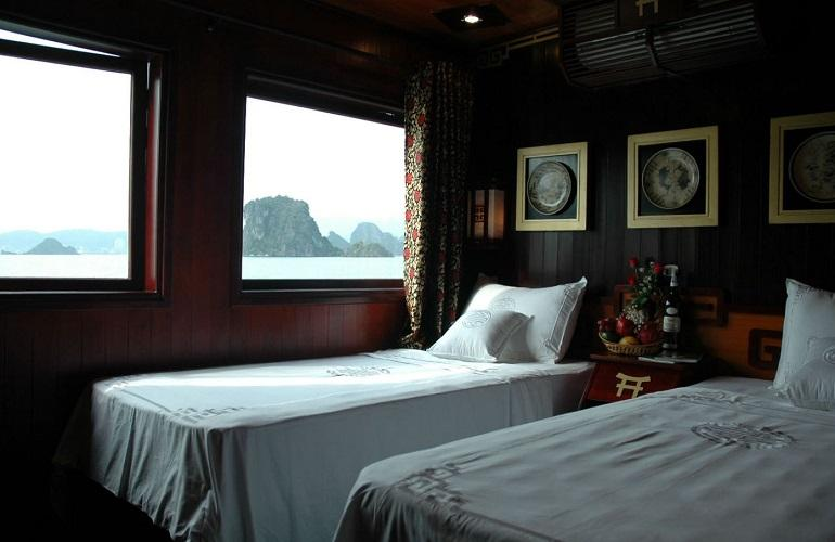 Deluxe Cabin, Dragon Pearl, Halong Bay