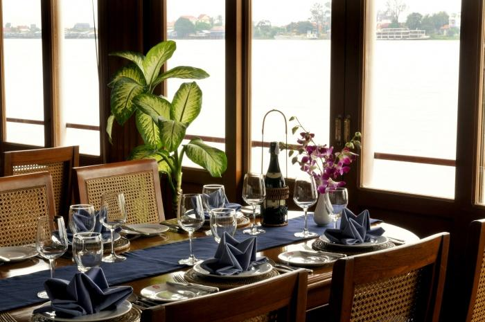 Restaurant, Pandaw River Cruise