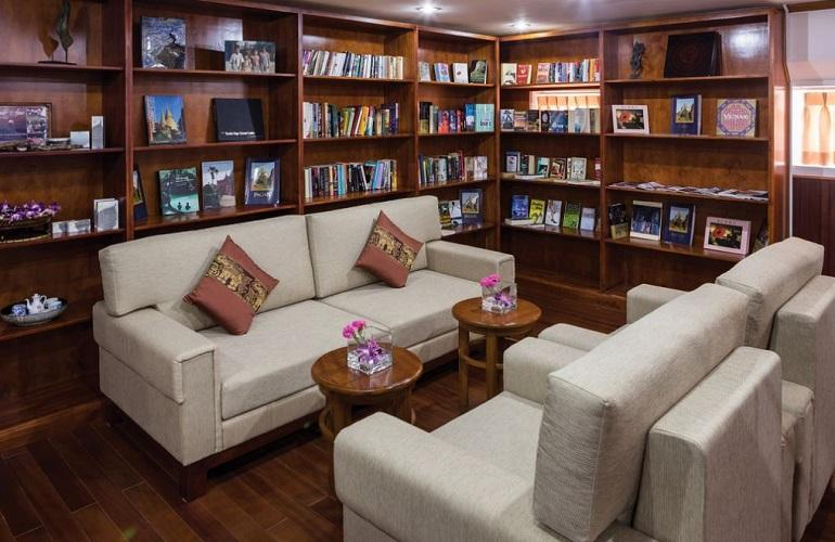 Library, Pandaw River Cruise