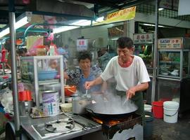Hawker centre in Penang
