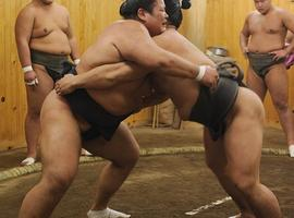 Morning Sumo practice