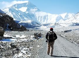 Approach road to Everest Base Camp