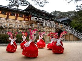 Fan Dance, Gyeongju, South Korea