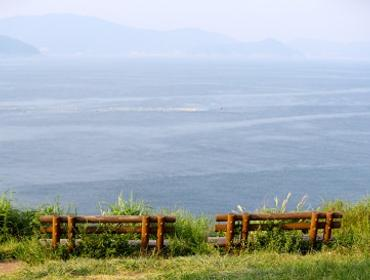 Looking out to sea, Geoje Island
