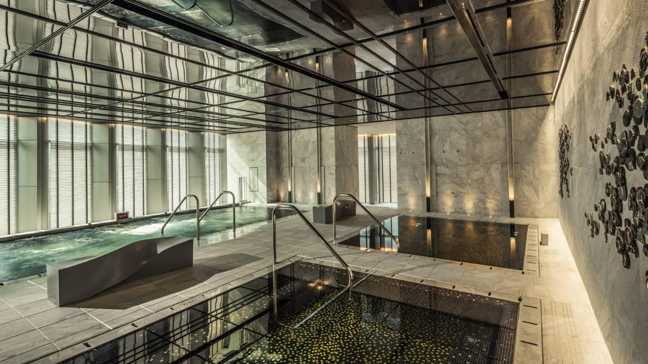 Korean Sauna, Four Seasons, Seoul