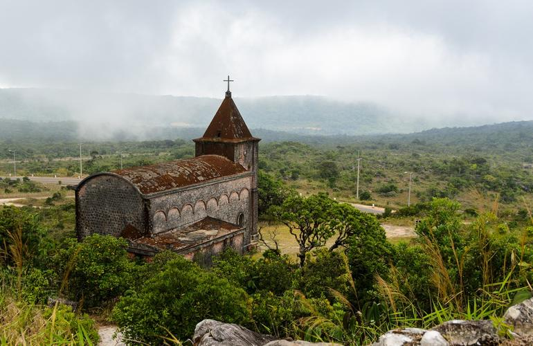 Abandoned church, Bokor