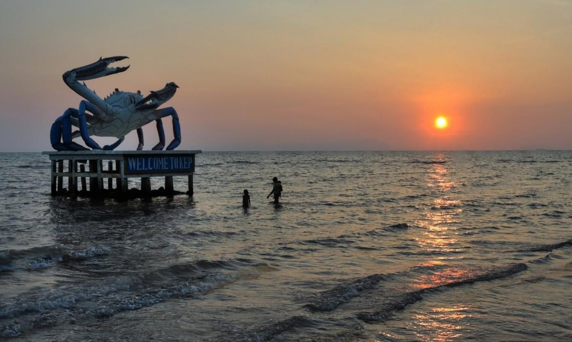 Sunset, Kep
