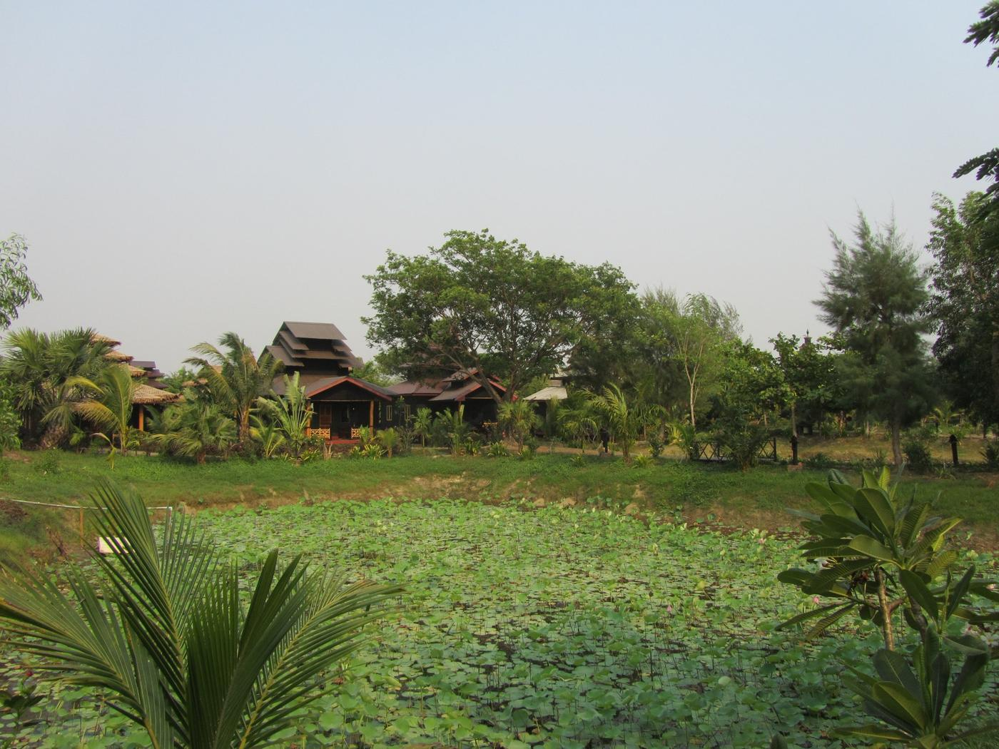 Grounds, Mrauk U Princess Resort