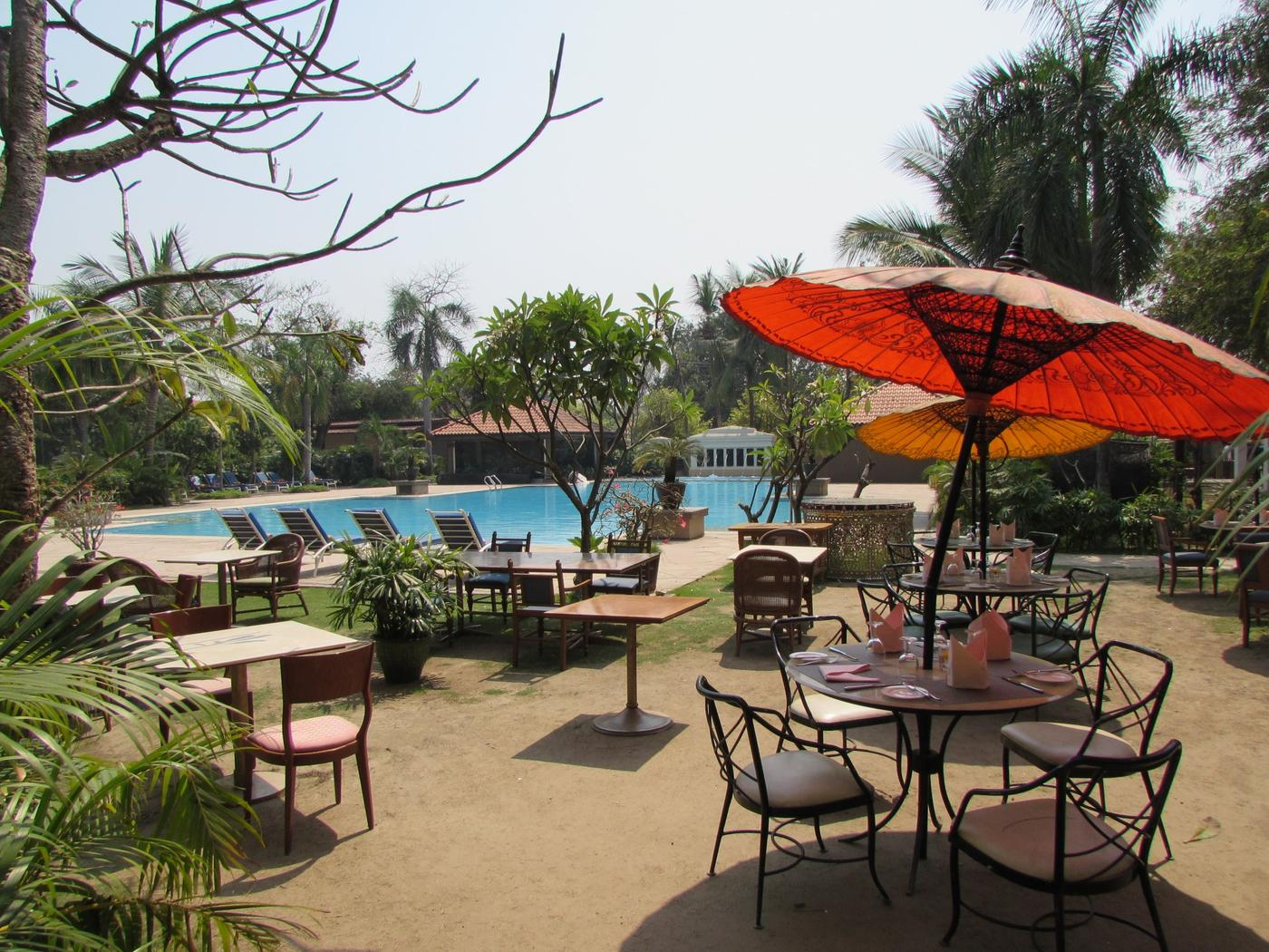 Terrace, Hilton Mandalay