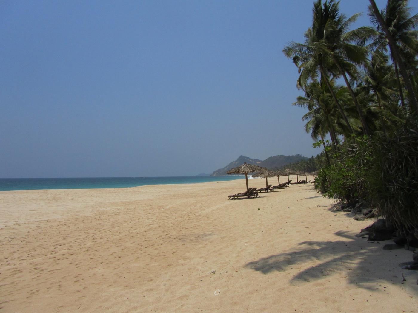The beach, Amara Ocean Resort