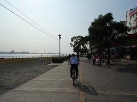 Cycle around Tamsui, Taipei