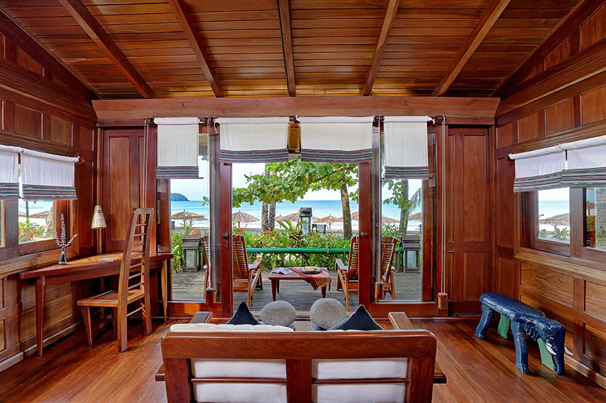 Beach Cottage interior, Sandoway Resort