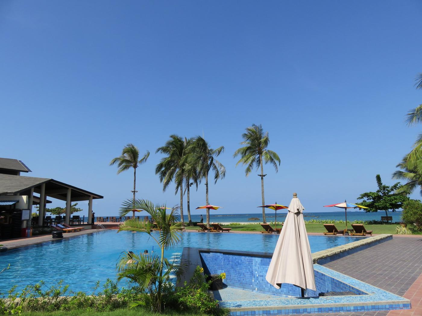 Swimming pool, Bay of Bengal Resort
