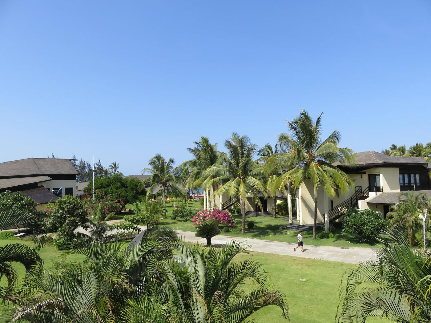 Gardens, Bay of Bengal Resort