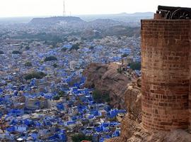 View from fort, Jodhpur