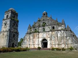 Paoay Church, Laoag, Luzon, the Philippines