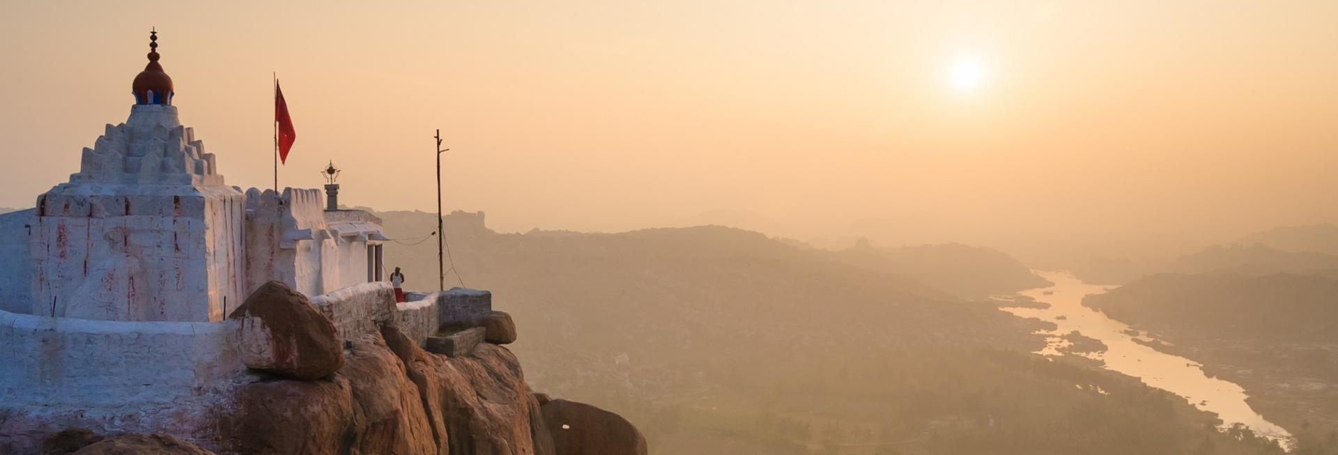 View from Monkey Temple, Hampi